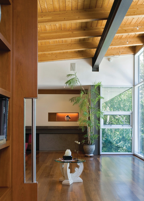 Bridal Path Residence contemporary-living-room