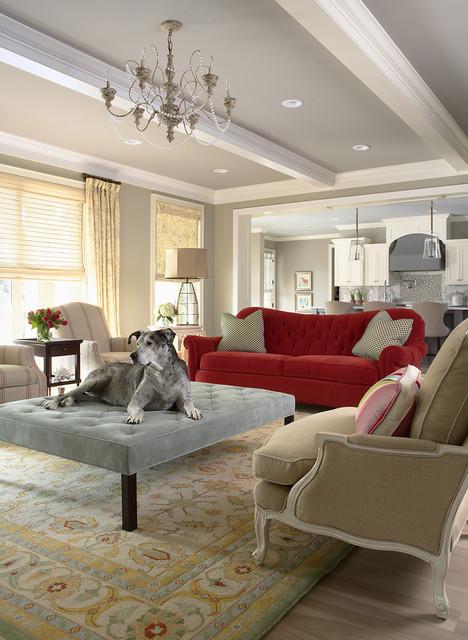Bridge Street Residence Living Room Traditional Living