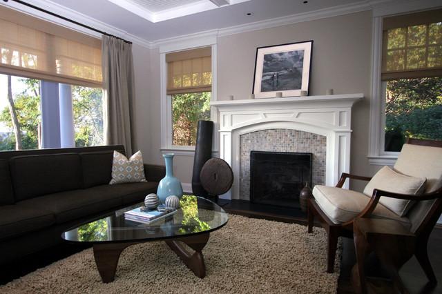 Bridgehampton Classic - Beach Style - Living Room - New ...