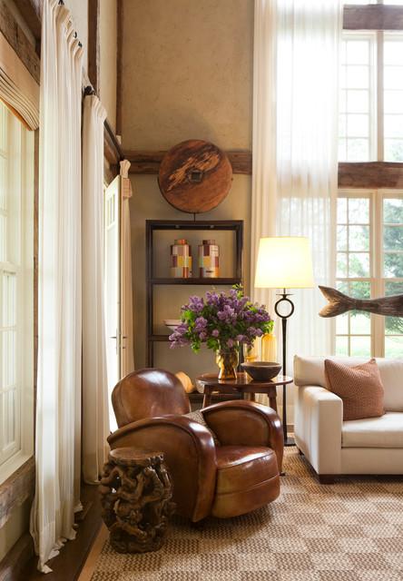 Bridgehampton Estate traditional-living-room