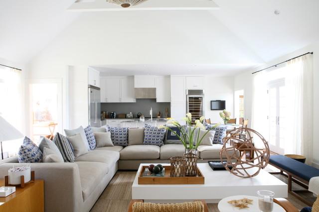 Bridgehampton beach-style-living-room