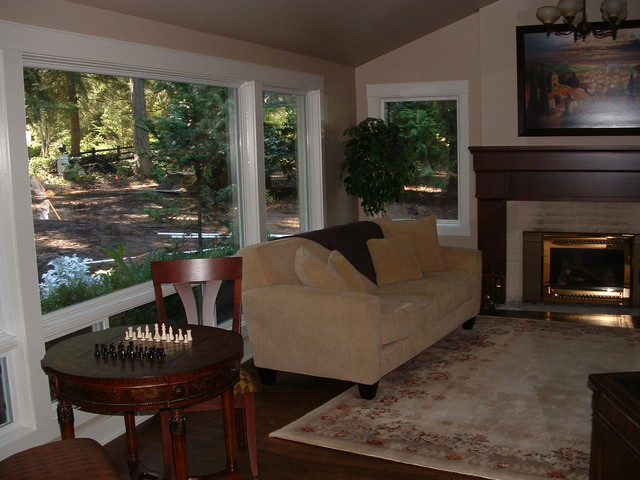 Bridle Trails Remodel traditional-living-room