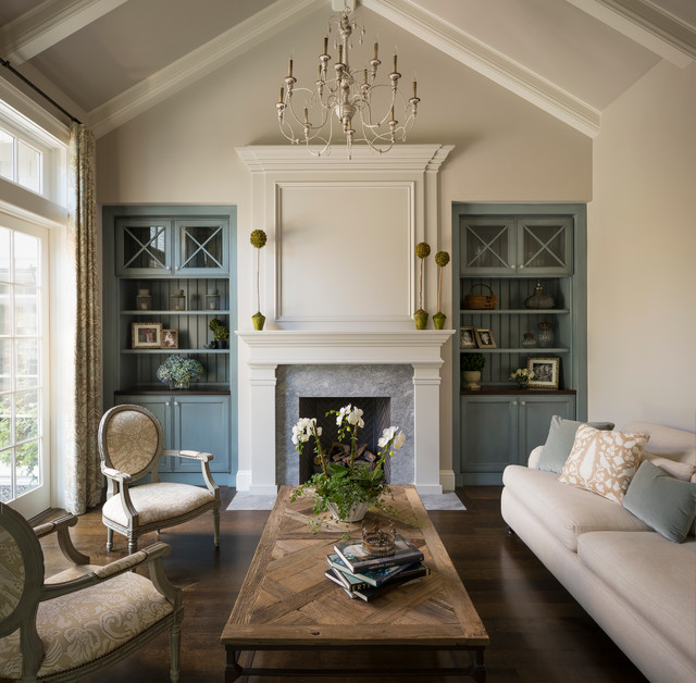 Houzz Living Rooms Traditional: Bright California Traditional