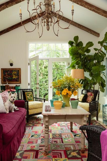 Beach Cottage beach-style-living-room