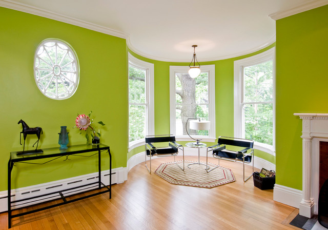 Inspiration For An Eclectic Living Room Remodel In Boston