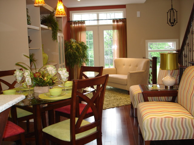 Ordinaire Bright Model Townhouse   Contemporary   Living Room ...
