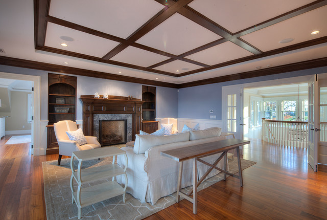 Bristol Rhode Island Cabinets Traditional Living Room Providence By Jonathon Dahl Woodworks