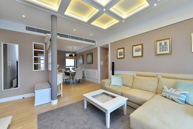 Broadwood Twelve, Hong Kong modern-living-room