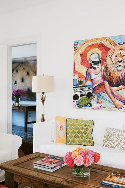Broderick St. eclectic-living-room
