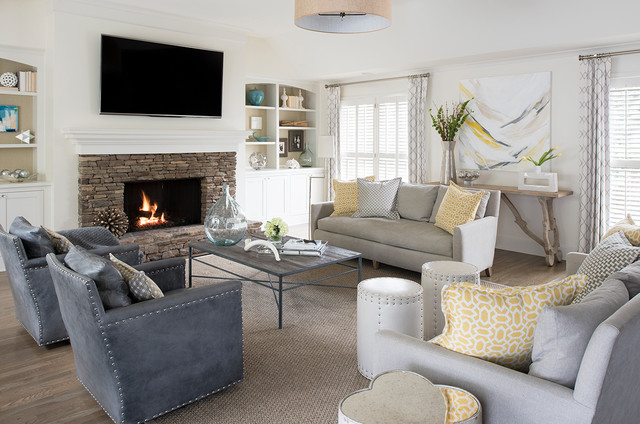 brookhaven residence classique chic salon atlanta par miko boone home. Black Bedroom Furniture Sets. Home Design Ideas