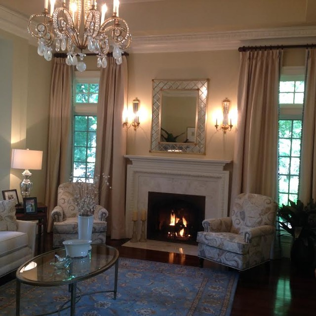 brookline residence traditional living room boston