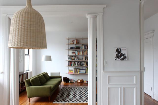 Living Room Furniture Brooklyn brooklyn apartment - modern - living room - new york -maletz
