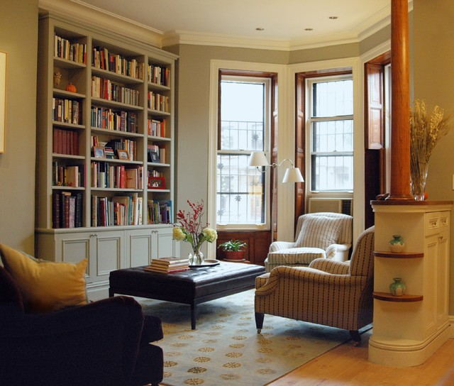 Brooklyn brownstone for Living room brooklyn