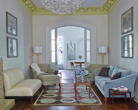 Paint crown molding living room design ideas pictures for Living room with crown molding