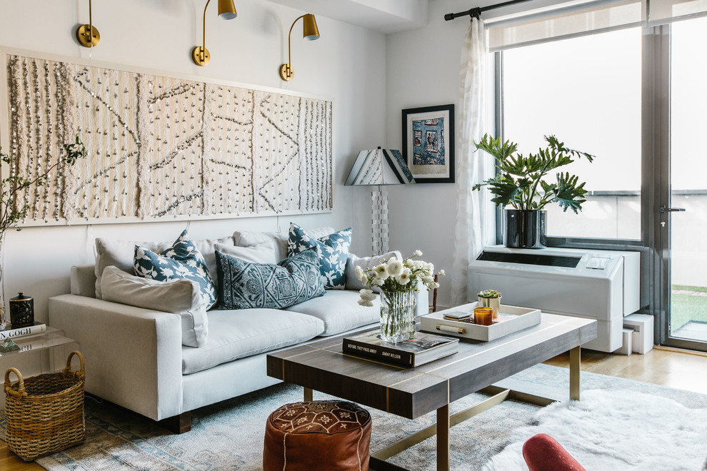Brooklyn, NY - Eclectic - Living Room - New York - by CM ...