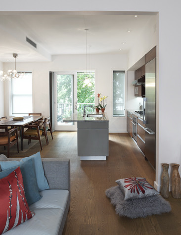 Brooklyn Townhouse Carroll Gardens Modern Living