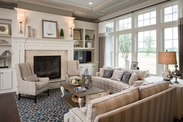 Brookside:  Eagles Nest traditional-living-room