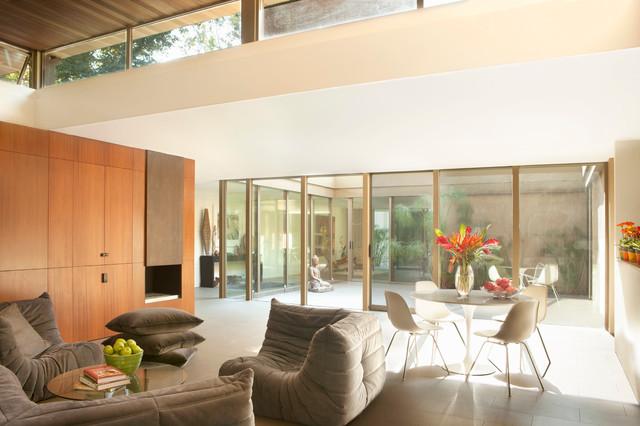 Brooktree Los Angeles Mid Century Modern Wohnzimmer