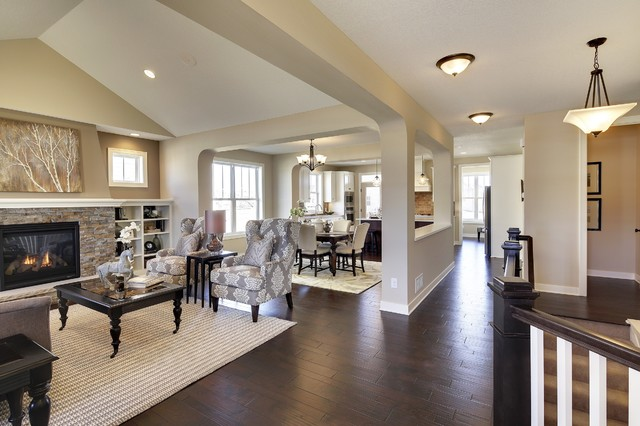 Brookview Rambler Spring 2015 Parade Of Homes Hugo Mn Living Room Other Metro By