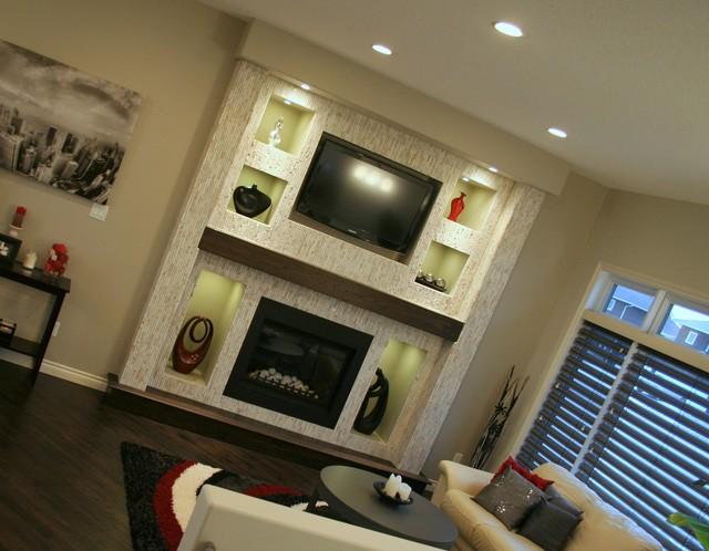Brookwood Area contemporary-living-room