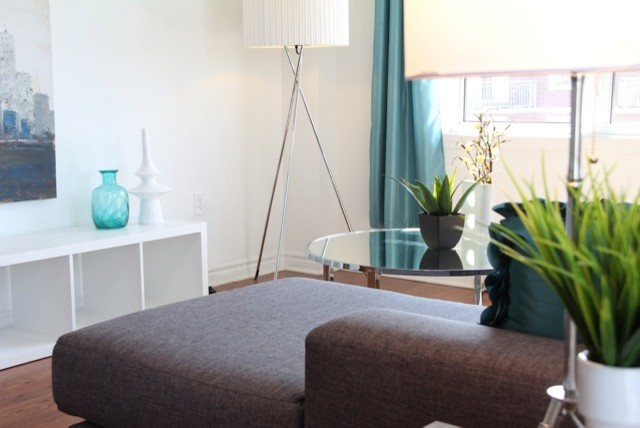 Brossard Condo - Vacant Home Staging