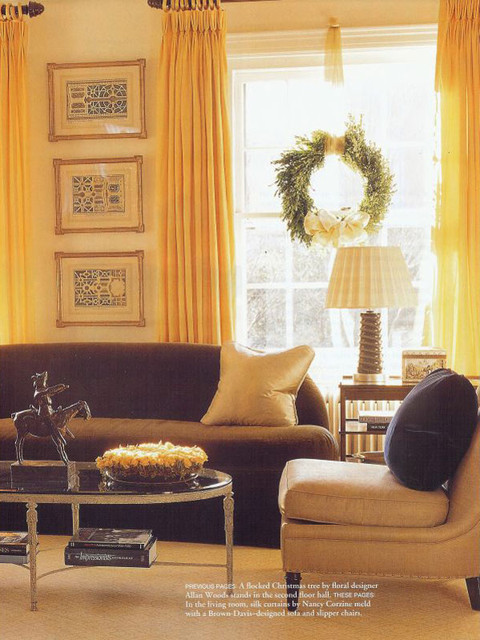 Brown Davis Interiors, Inc. traditional-living-room