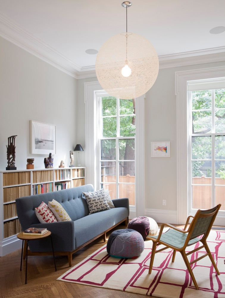 """BROWNSTONER:Brooklyn Heights """"Brides' Row"""" Gem Is Restored to Perfection"""
