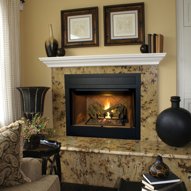 Houzz Living Room Fireplace: BRT4000 Gas Fireplace By Superior