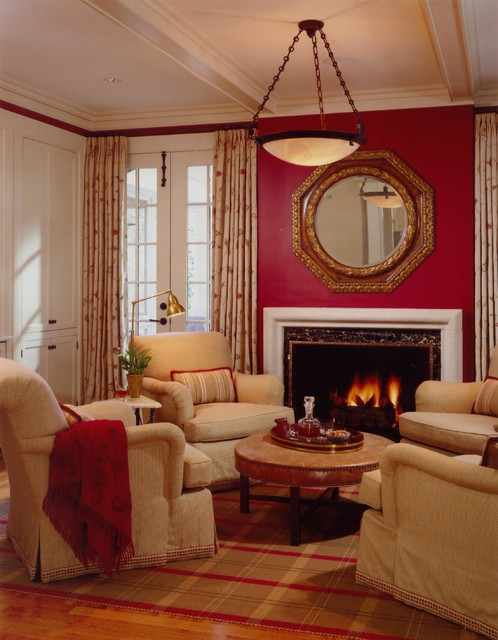 Wells & Fox Projects traditional-living-room