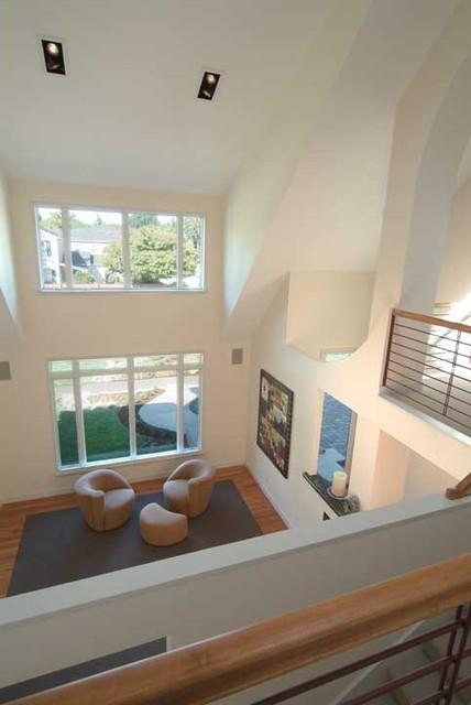 Bruce Residence Custom Home contemporary-living-room