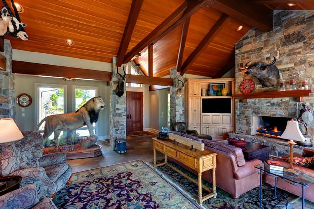 Bruce Resident traditional-living-room