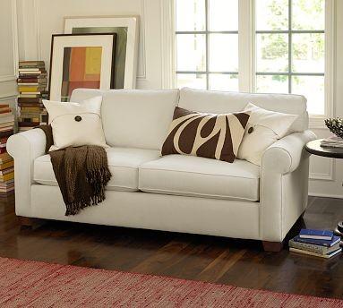 Buchanan Apartment Sofa | Pottery Barn - Living Room - By Pottery Barn