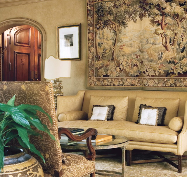 Mediterranean Living Room by Joel Kelly Design