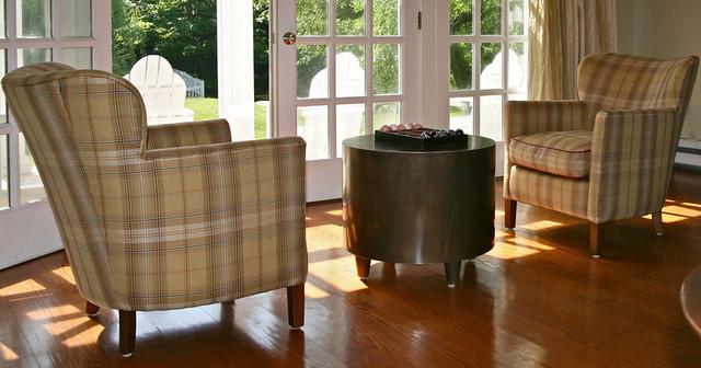 Bucks County Farmhouse traditional-living-room