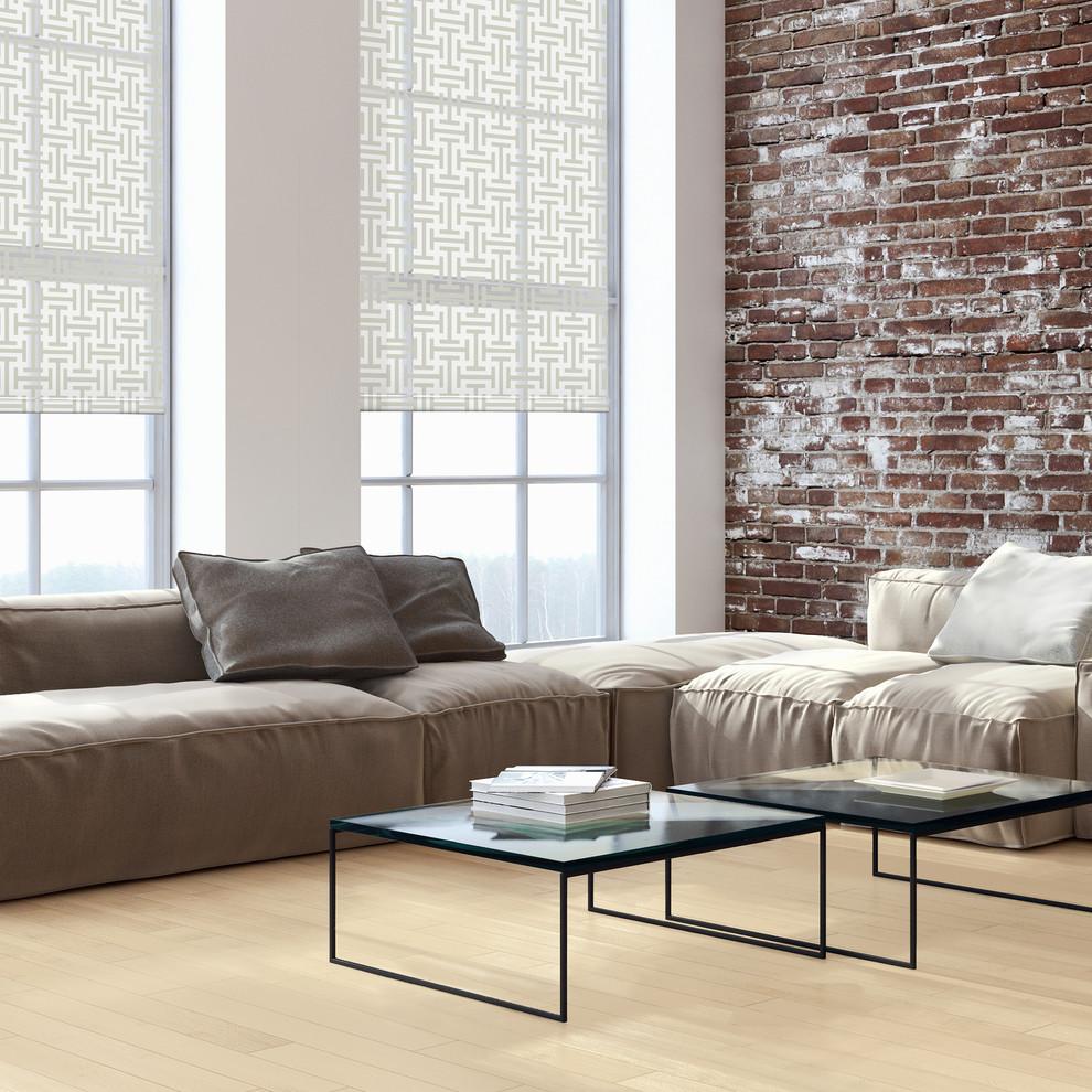 Living room - contemporary living room idea in Orange County