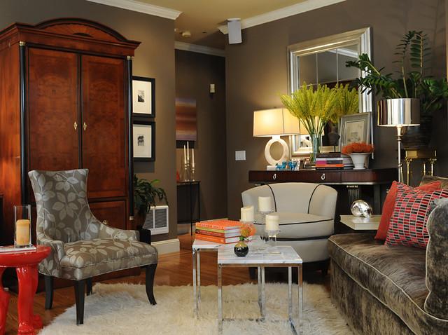 Buena Vista Condo Transitional Living Room San Francisco By Brian Dittmar Design Inc