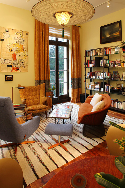 eclectic living room uncategorized