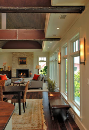 Built for the Architect's Family traditional-living-room