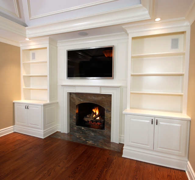 Built In Cabinetry Traditional Living Room Part 64