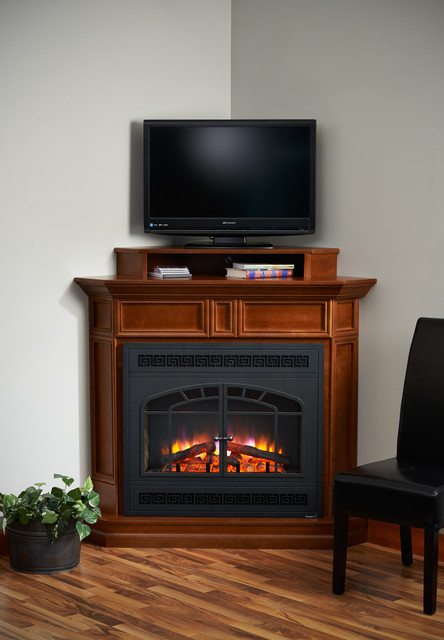 Built In Electric Fireplace Traditional Living Room Minneapolis By Th