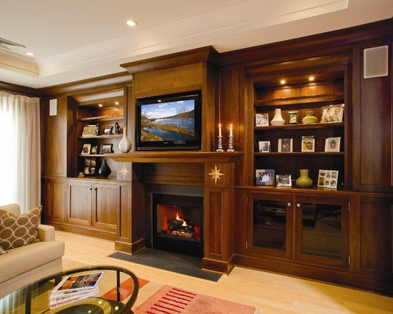 Entertainment Center Decorating Ideas