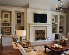 Built-Ins traditional-living-room