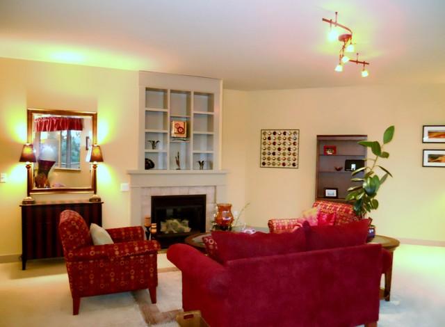 Bull Residence traditional-living-room