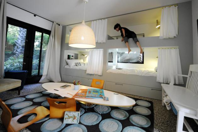 Bunk beds - Modern - Living Room