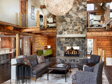 rustic living room Room of the Day: Refining the Rustic in a Log Home (5 photos)