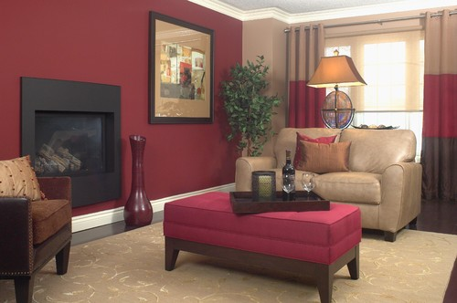 Captivating Red Living Room Walls 9 Peachy And Taupe Ideas. Using Design Seeds Part Ii Part 8