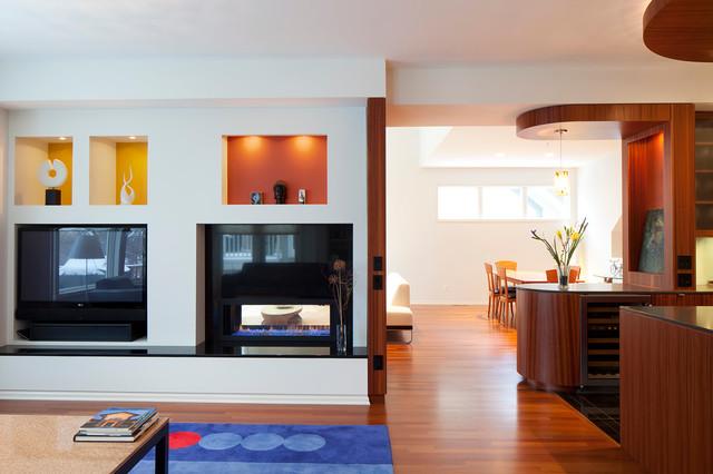 Burton Hudson Renovation modern-living-room