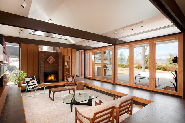 Living Room Denver : Busch House - Living Room - Modern - Living Room - denver ...