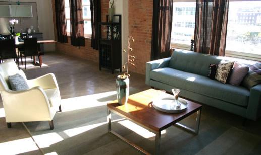 Busybee Design modern living room