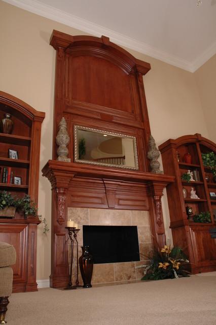 Butler Ridge Model traditional-living-room